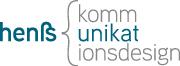 henß kommunikationsdesign Logo